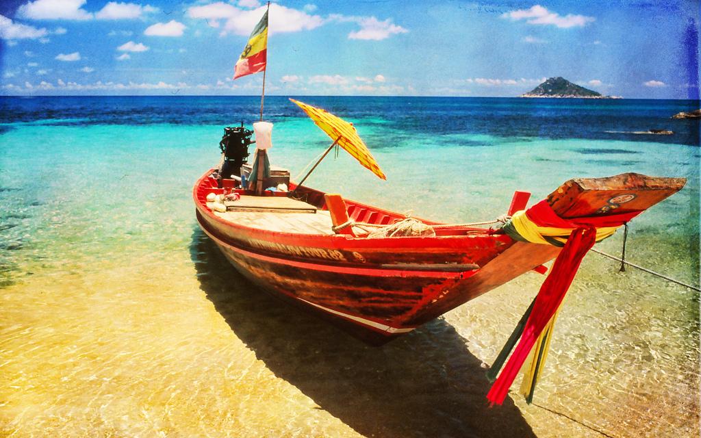 På tropisk eventyr i Thailand