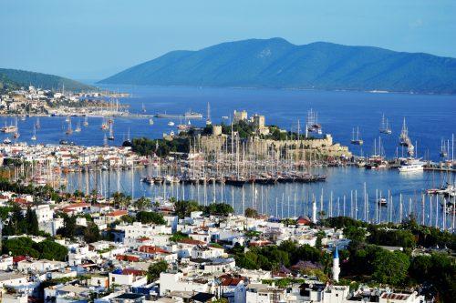 Bodrum Tyrkiet – En smuk havneby