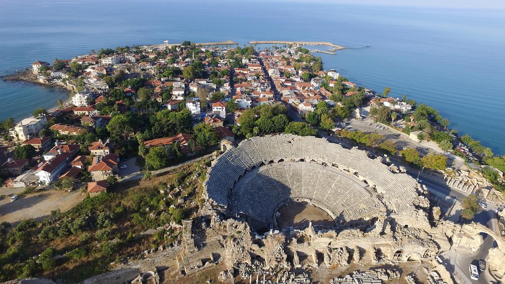 Solrig ferie i Side Tyrkiet