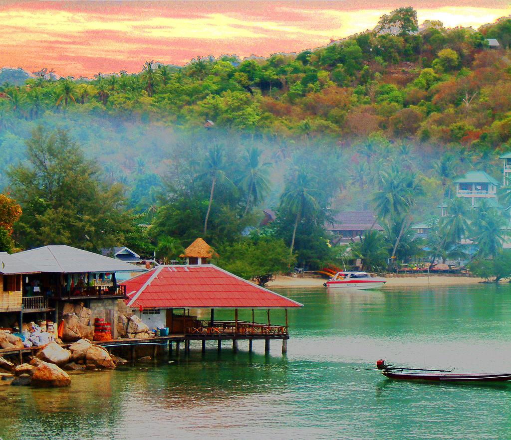 Dykning på Koh Tao