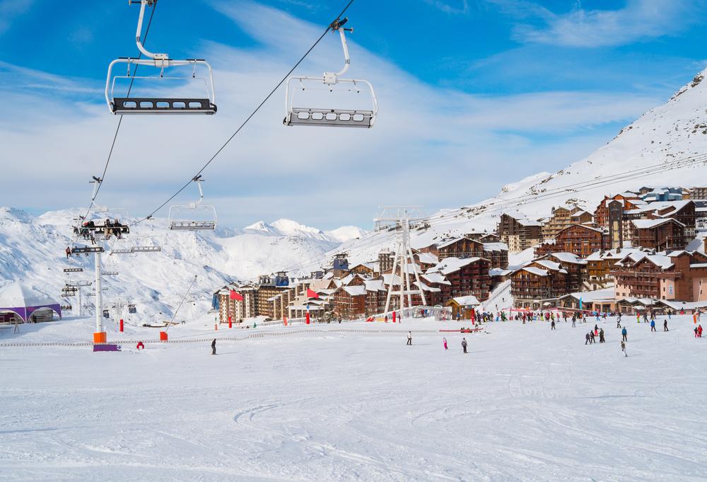 Val Thorens – det højest beliggende skiresort i Europa