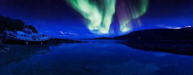 Oplev nordlyset på en billig rejse til Norge
