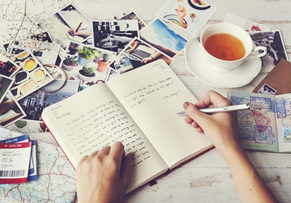 Sådan skriver du rejsedagbog